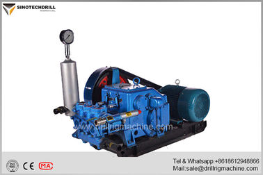 Horizontal Mud Pumps For Drilling Rigs , Single Acting Reciprocation Triplex Piston Pump