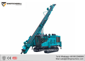 Crawler Mounted Drilling Rig Machine 2km/H Traveling Speed 23t Gross Weight